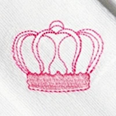 Kit Fraldas de Boca (Babete) 3 Peças Forrada Coroa Coruja