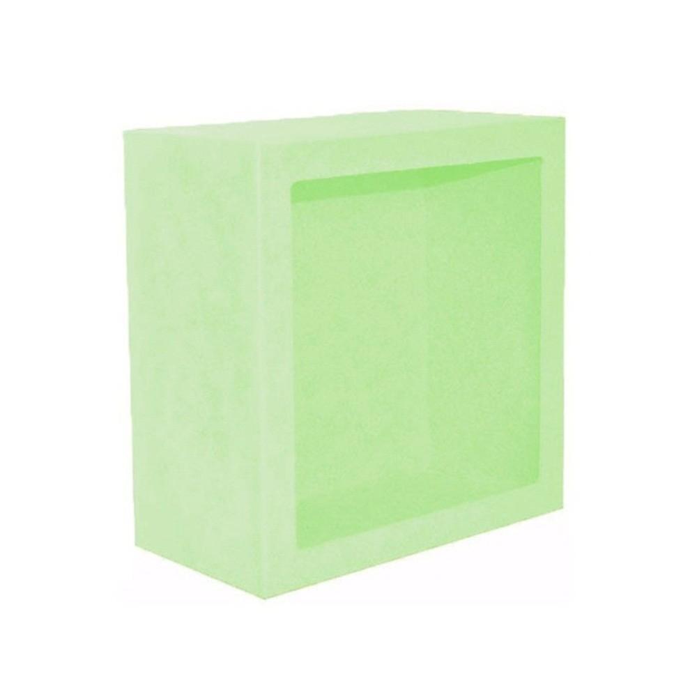 Nicho Quadrado Grande Verde Claro Mdf