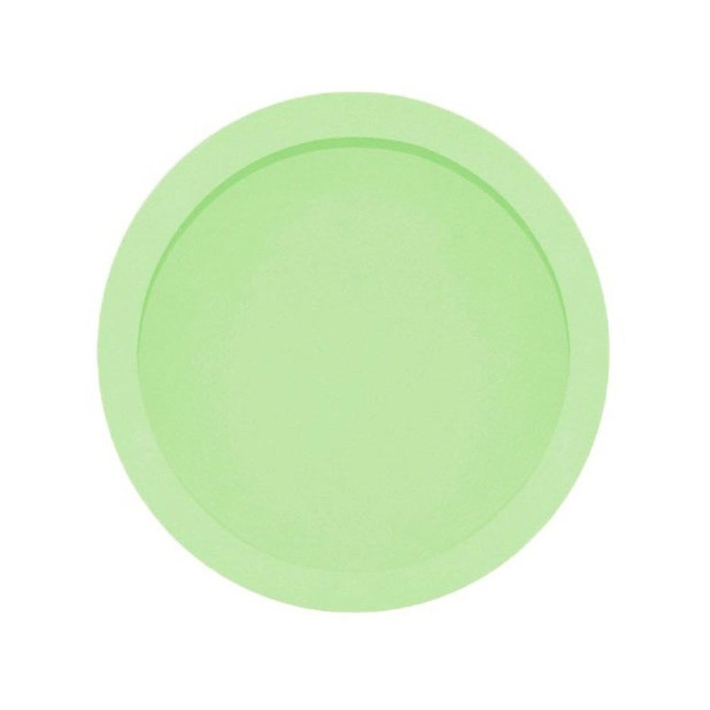 Nicho Redondo Grande Verde Claro Mdf