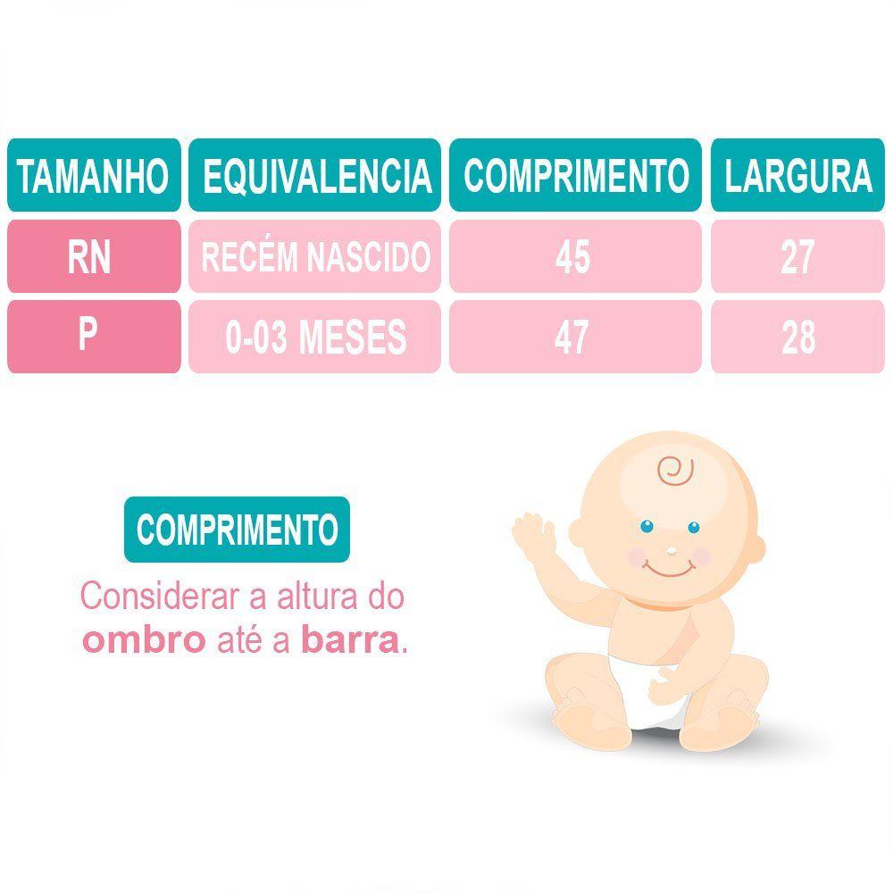Saída Maternidade Manga Longa 4 Peças Malha e Tricoline Marinho e Branco com Suspensório e Gravata