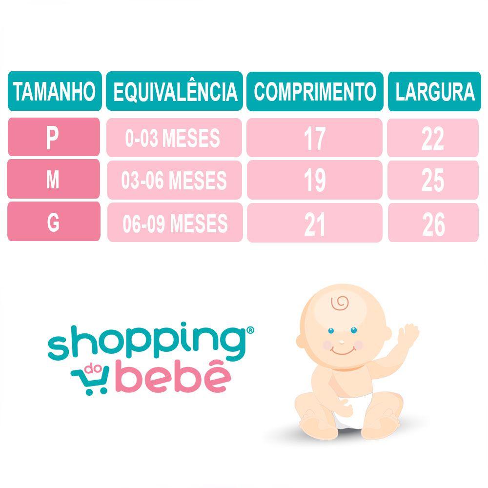 Tapa Fralda Bebê Malha Liso Palha com Botões de Pressão