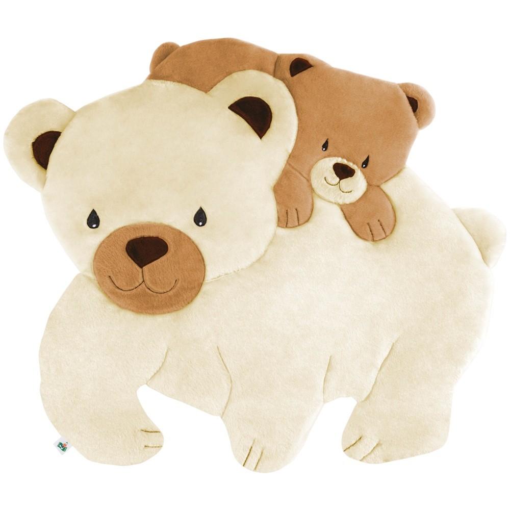 Tapete Grande Emborrachado Urso Polar