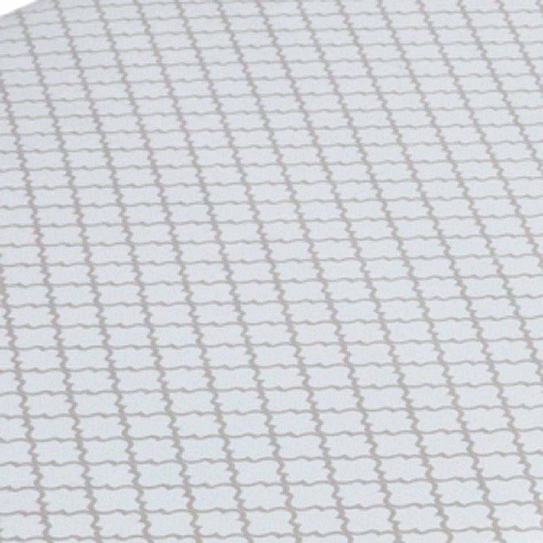 Trocador de Fraldas Estampa Cinza e Branco para Cômoda Bebê Plastificado Coleção Levi