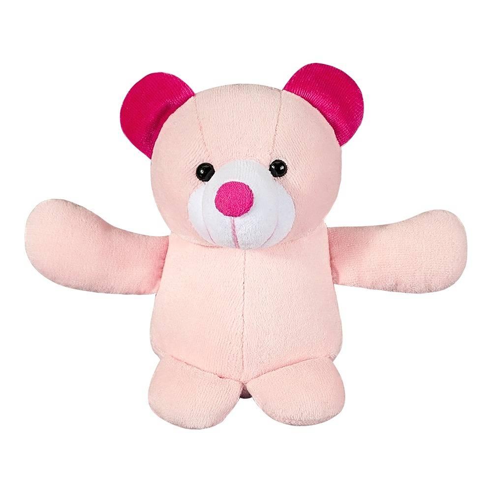 Ursa Plush Mini Rosa e Pink