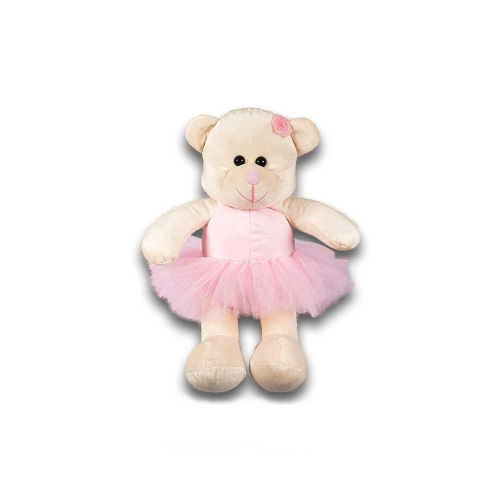 Ursa Soft Grande Bailarina Rosa