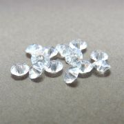 12 unids. Rondelzinho Disco Facetado Cristal Diamond 4,5mm CACG-101