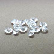 12 unids. Rondelzinho Disco Facetado Cristal Diamond 4,5mm CACG-101