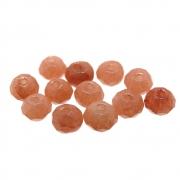 12 unids. Rondelzinho Facetado Jade Pedra da Lua 4mm CAJD-529