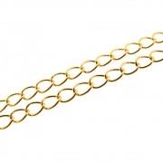 1 metro Corrente Nadhia 3,5mm Folheado em Ouro OF-CR61