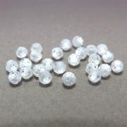 24 unids. Conta Esférica Multifacetada Zircônia Diamond 3mm CAZR-04