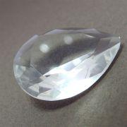 2 unids. Zircônia Cristal Gota 18x25mm ZRGO1825-05