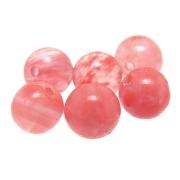 6 unids. Conta Esférica Cristal Cherry 8mm CACRT-166