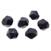 6 unids. Pedra Estrela Rolada Facetada 8mm CAPES-09