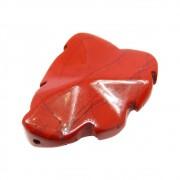 Folha Esculpida Jaspe Vermelho 35mm CAJSP-03
