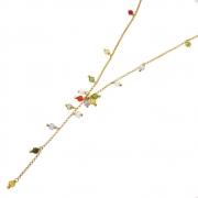 Kit Colar Semijoia Folheado Ouro 18k KITCLPM-245