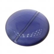Moeda Cristal Olho de Gato Ametista 25mm CACG-300