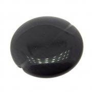 Moeda Cristal Olho de Gato Black 25mm CACG-296