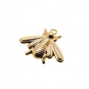 Pingente Abelha 11mm Folheado Ouro 18k OF-PIN786