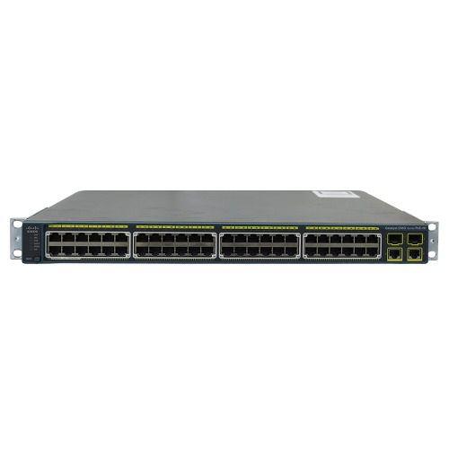 Switch Cisco Catalyst 2960 48pst-l 48 Ports - Usado