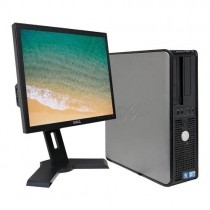 Computador Completo Dell Pc Core2duo+monitor+teclado+mouse - Usado