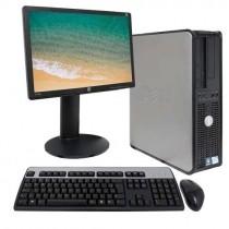 Computador Completo Dell 780 Monitor+teclado+mouse - Usado