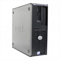 Desktop dell optiplex slim 745 core2duo 2gb 160gb - usado
