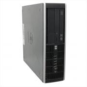Desktop hp 8100 compaq slim i5 4gb 250gb - usado