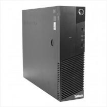Desktop lenovo thinkcentre m83 i3 4gb 500gb - usado