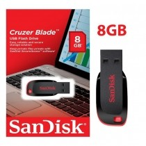 PenDrive SanDisk 8gb Cruzer Blade - Original #01