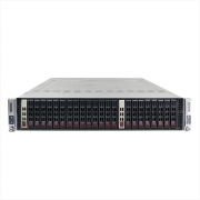Servidor supermicro 217-14 2x xeon e5620 64gb 2x 1tb sas - usado