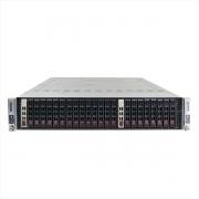 Servidor supermicro 217-14 2x xeon x5650 64gb 2x 1tb sas - usado