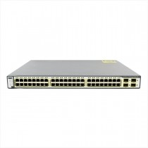 Switch cisco ws-c3750-48ps-e 48 portas gigabit - usado
