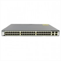 Switch cisco ws-c3750-48ps-s 48 portas gigabit - usado