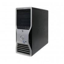 Workstation dell precision t3400 core2duo sem memória e sem hd - usado