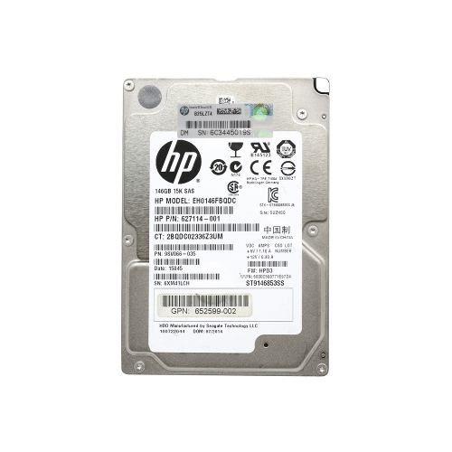 HD HP 146gb 15k 6gb/sec Sas 15000 Rpm - Usado