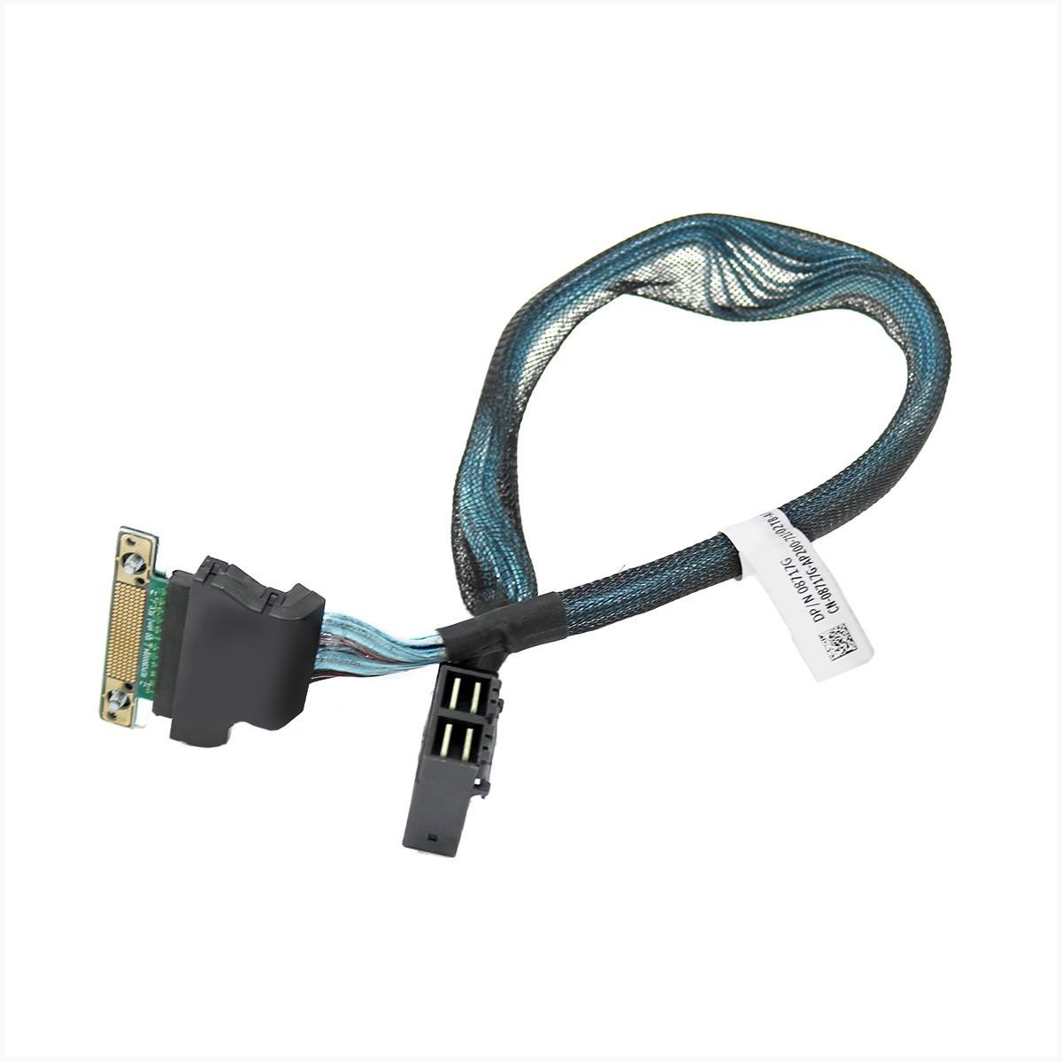 Cabo perc mini sas para servidores dell r730 r730xd 08717g - usado