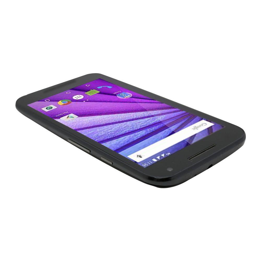 Celular Motorola Moto G3 Quad Core 1gb Ram 16gb Preto - usado