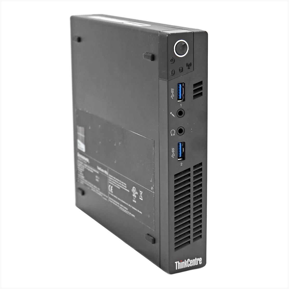 Computador lenovo m92p ultra reduzido i5 4gb 320gb - usado