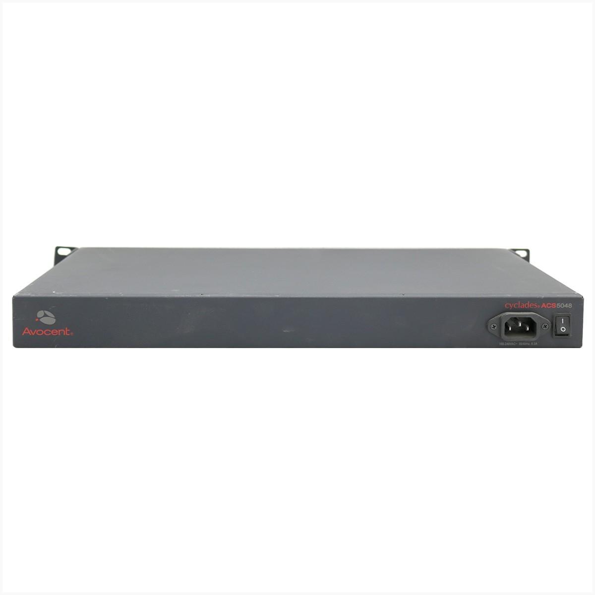 Console server avocent acs5048 - usado - usado