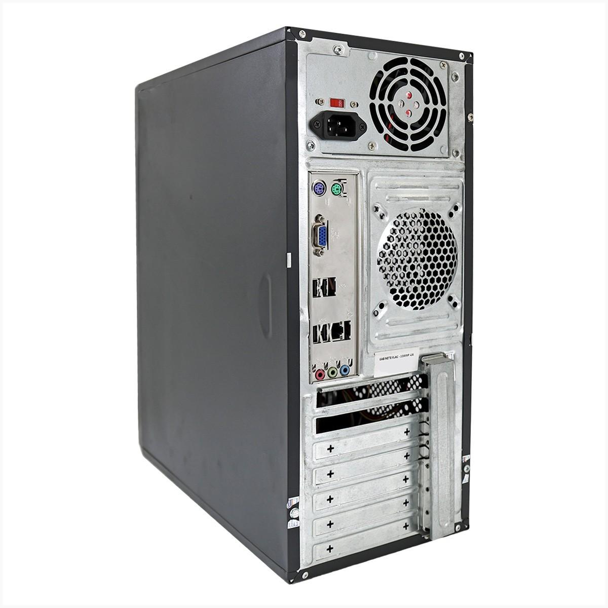 Desktop asus p8h61mlx3 i3 4gb 250gb - usado
