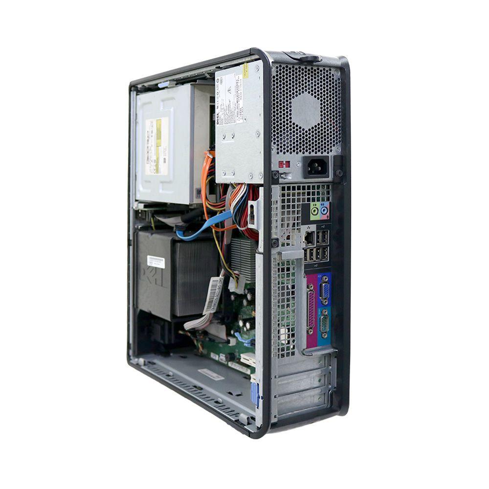 Desktop Dell 755 Slim Optiplex Core2duo 4gb 160gb - Usado