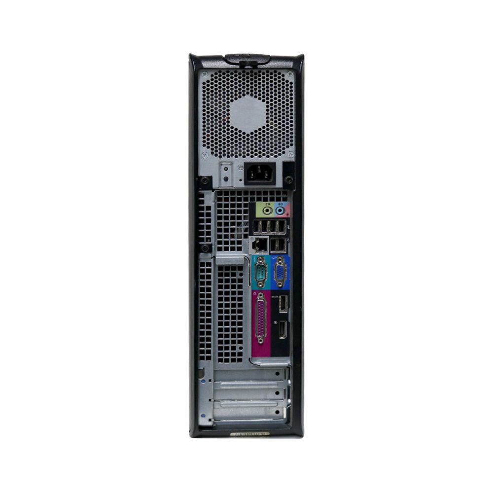 Desktop Dell 780 Slim Optiplex Core2Quad 2gb 250gb - Usado