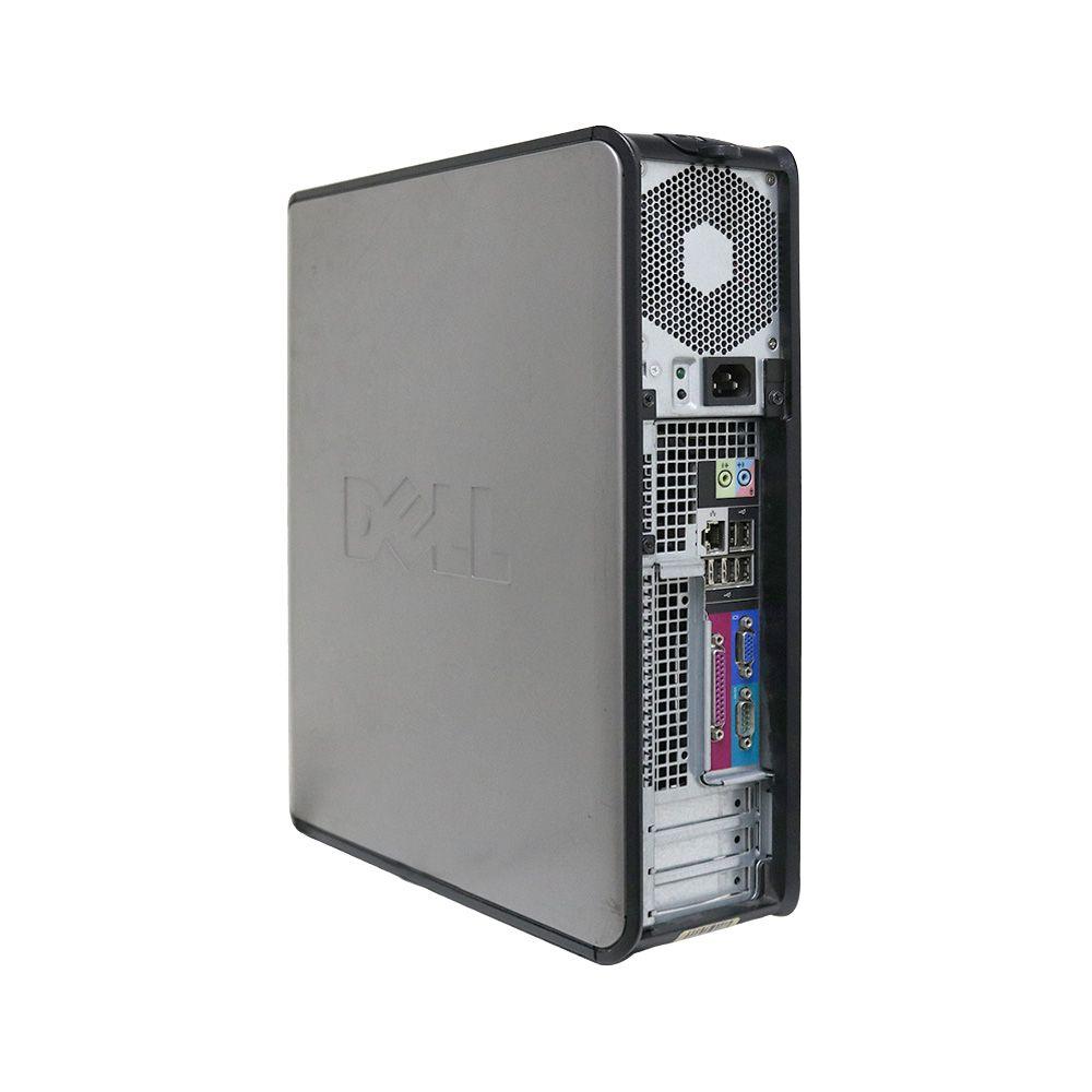 Desktop dell optiplex 380 slim core2duo sem memória e sem hd - usado