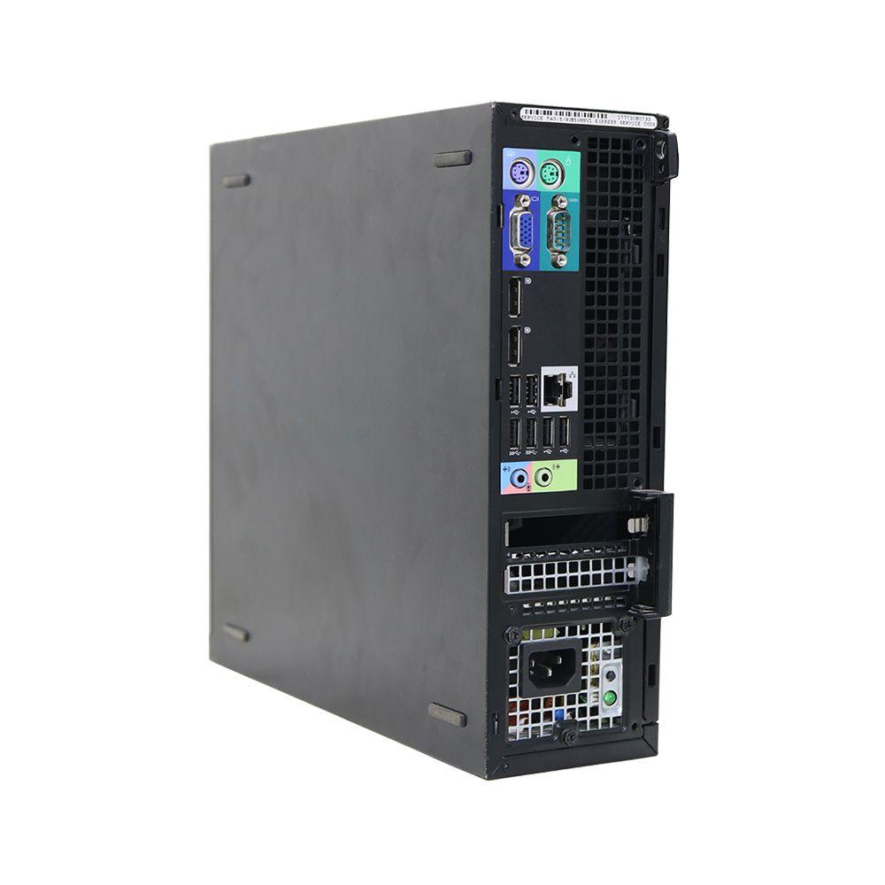 Desktop dell optiplex 7010 mini i5 (3470) 4gb 250gb - usado
