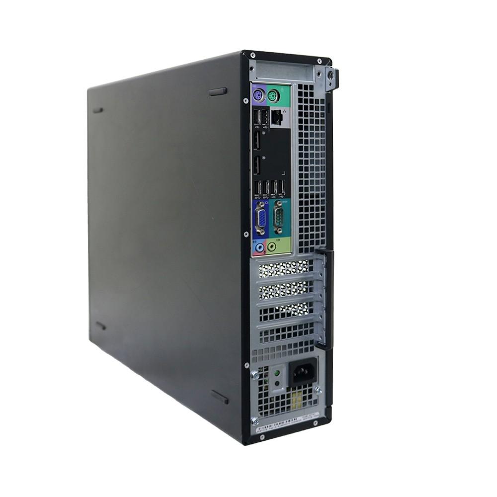 Desktop dell optiplex 7010 slim i3 4gb 250gb - usado