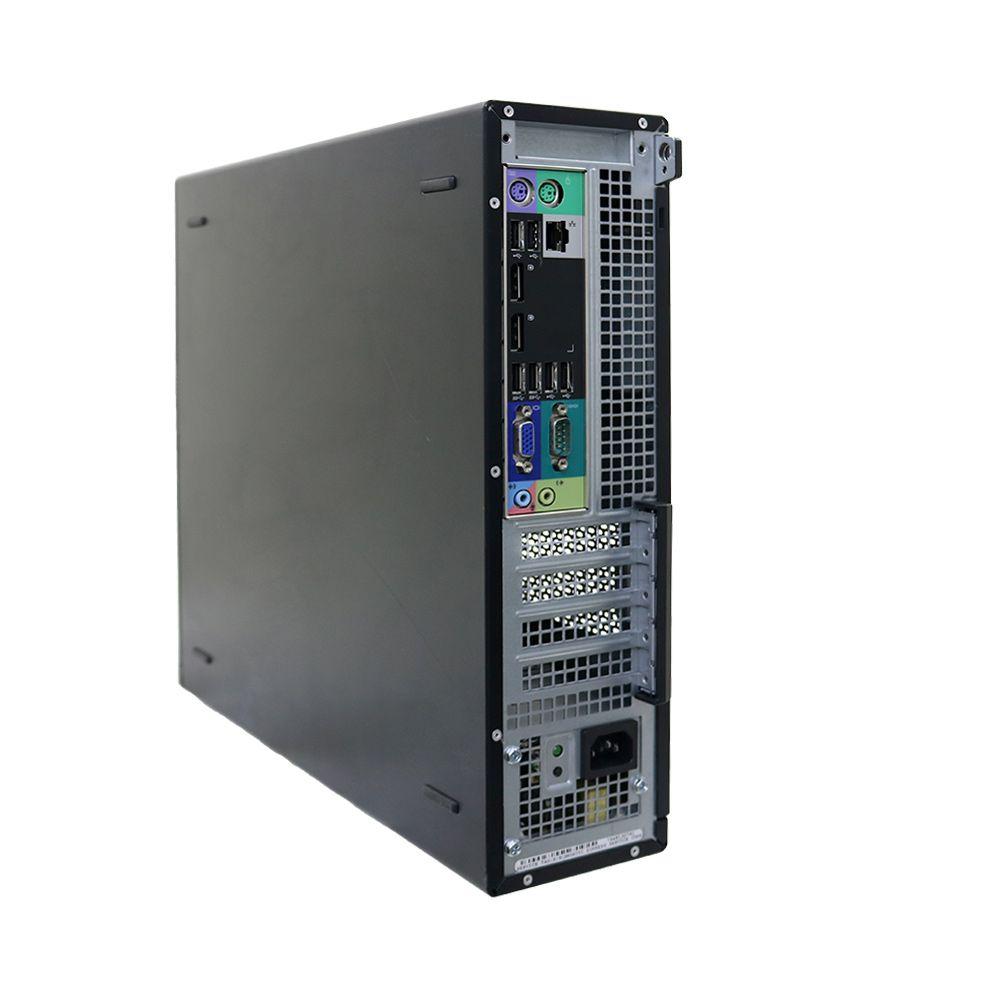 Desktop dell optiplex 7010 slim i5 4gb 250gb - usado