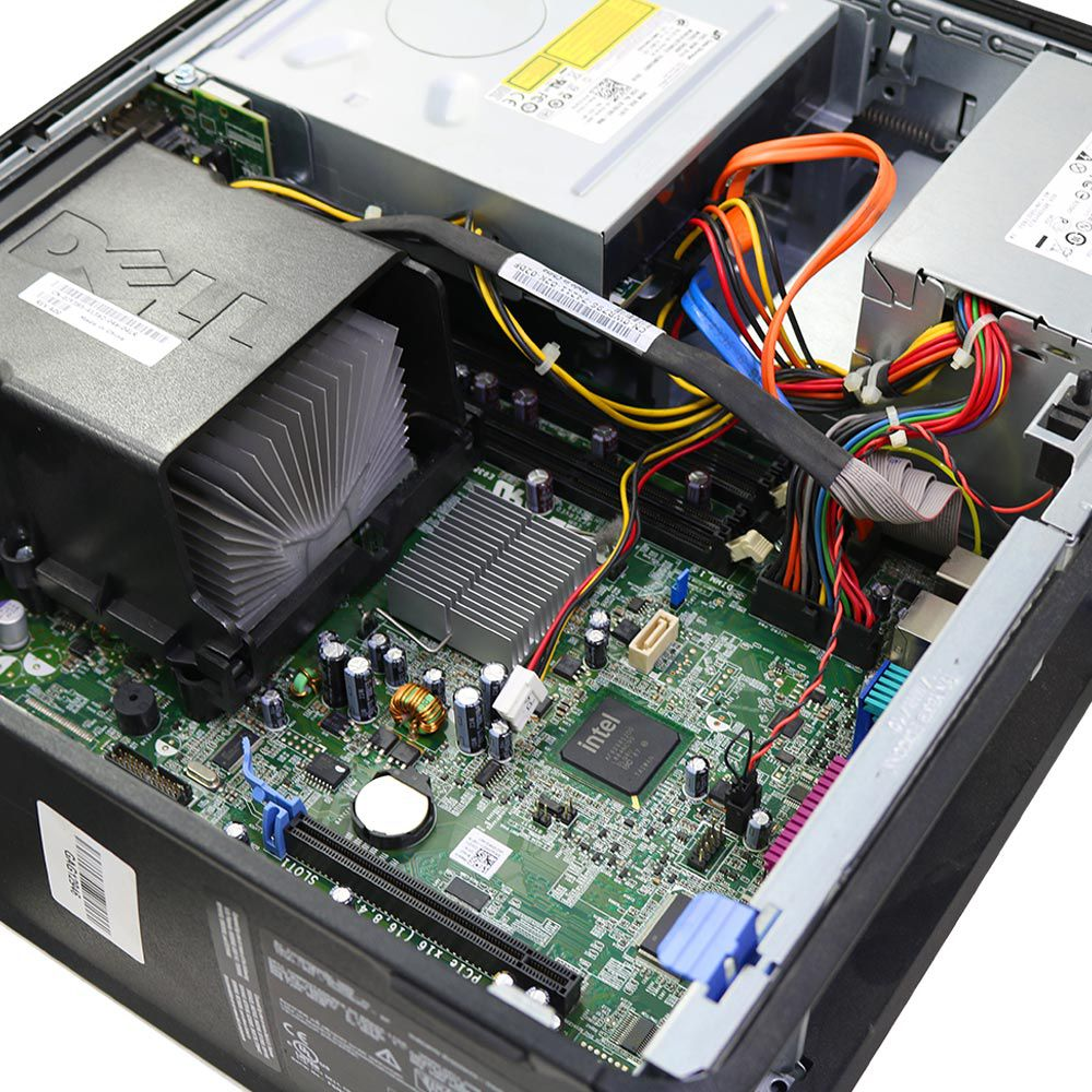Desktop Dell Optiplex 780 Slim Core2Duo 4gb Sem Hd - Usado