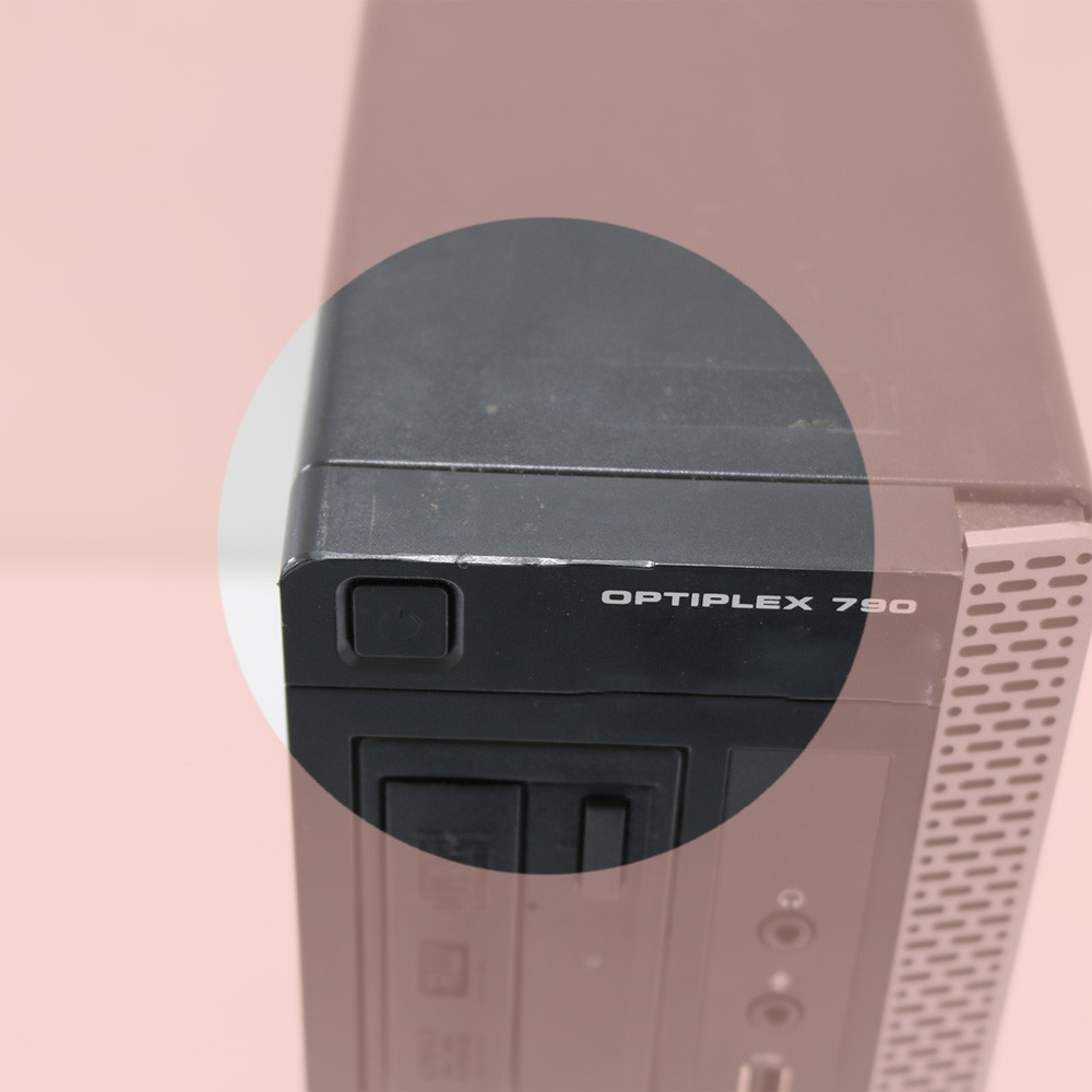 Desktop dell optiplex 790 slim i3 4gb 160gb - usado