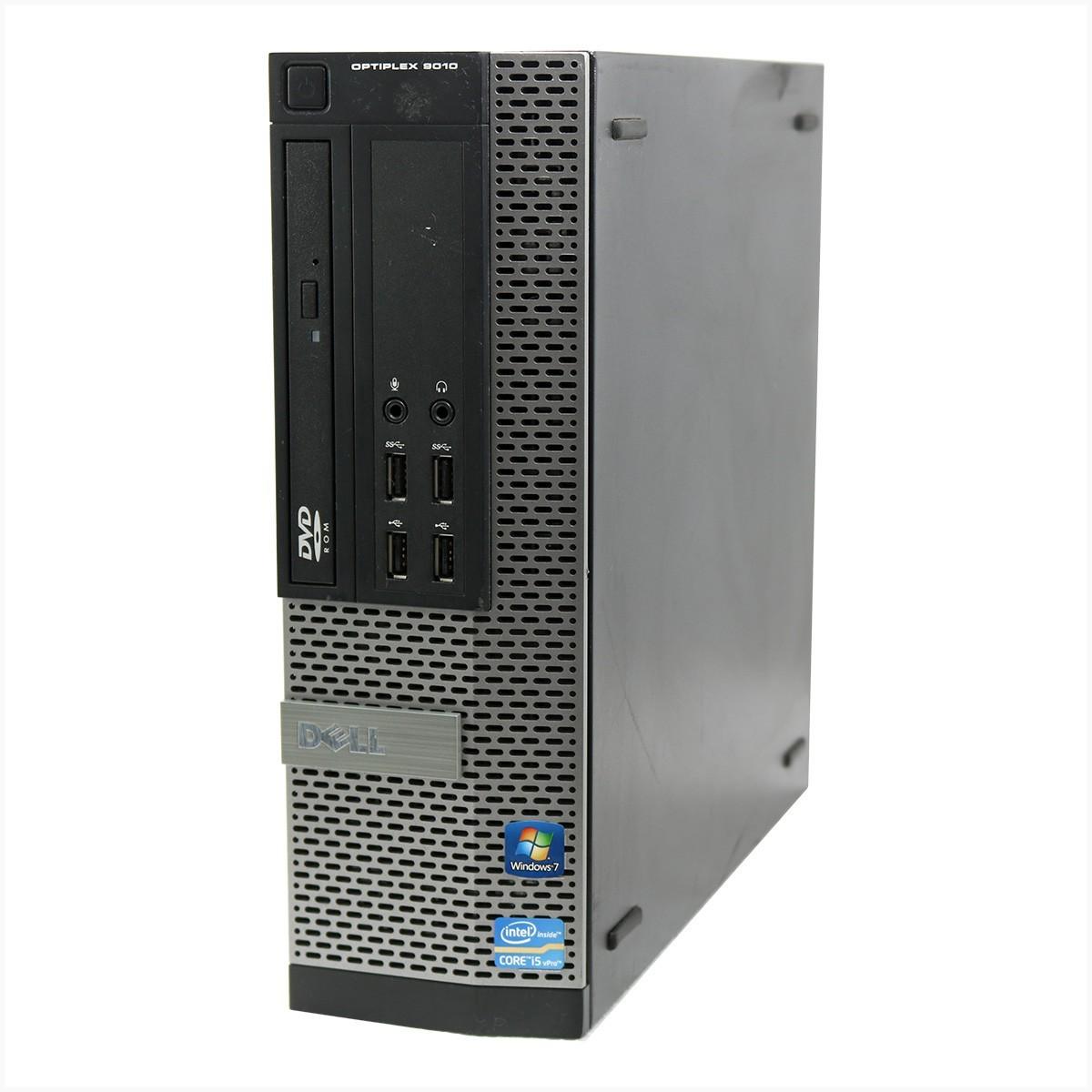 Desktop Dell Optiplex 9010 Mini i5 4gb 250gb - Usado