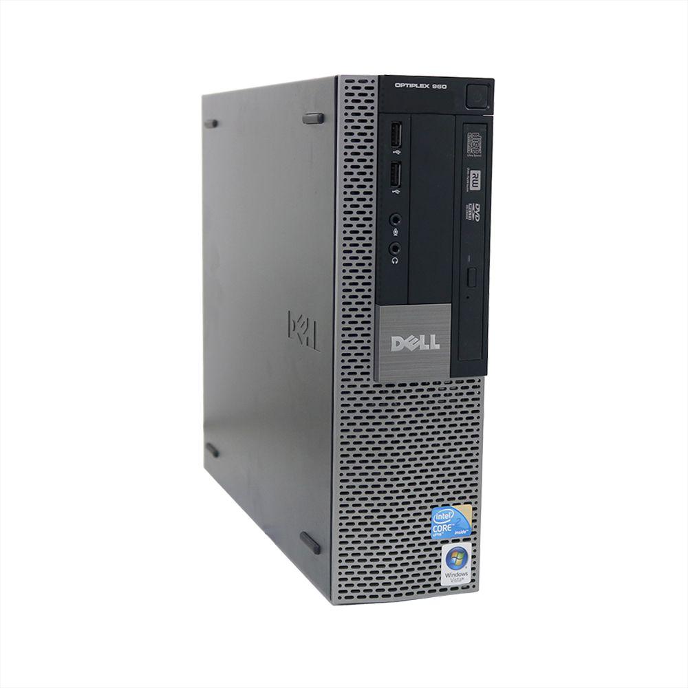 Desktop Dell Optiplex 960 Mini Core2Duo 8gb 320gb - Usado
